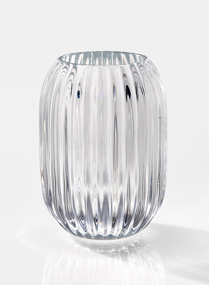 5in Optical Glass Votive Holder