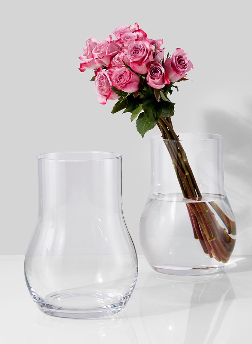 9 3/4in Vienna Glass Vase