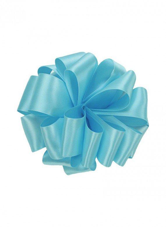 5/8in Ocean Blue Double Face Satin Ribbon