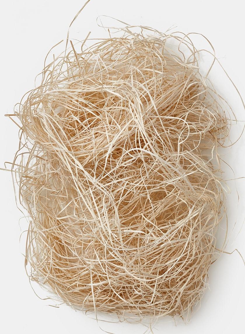 Bleached Wood Basket Filler 24933