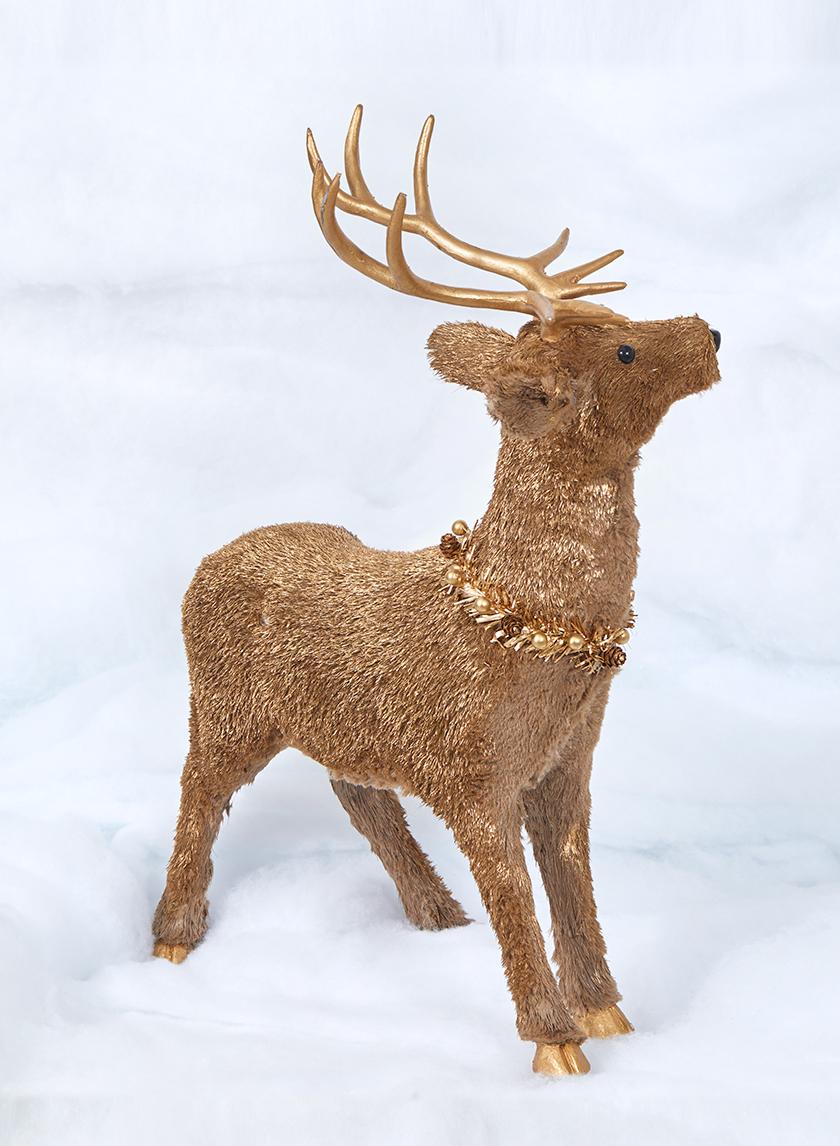 22in Gold Deer