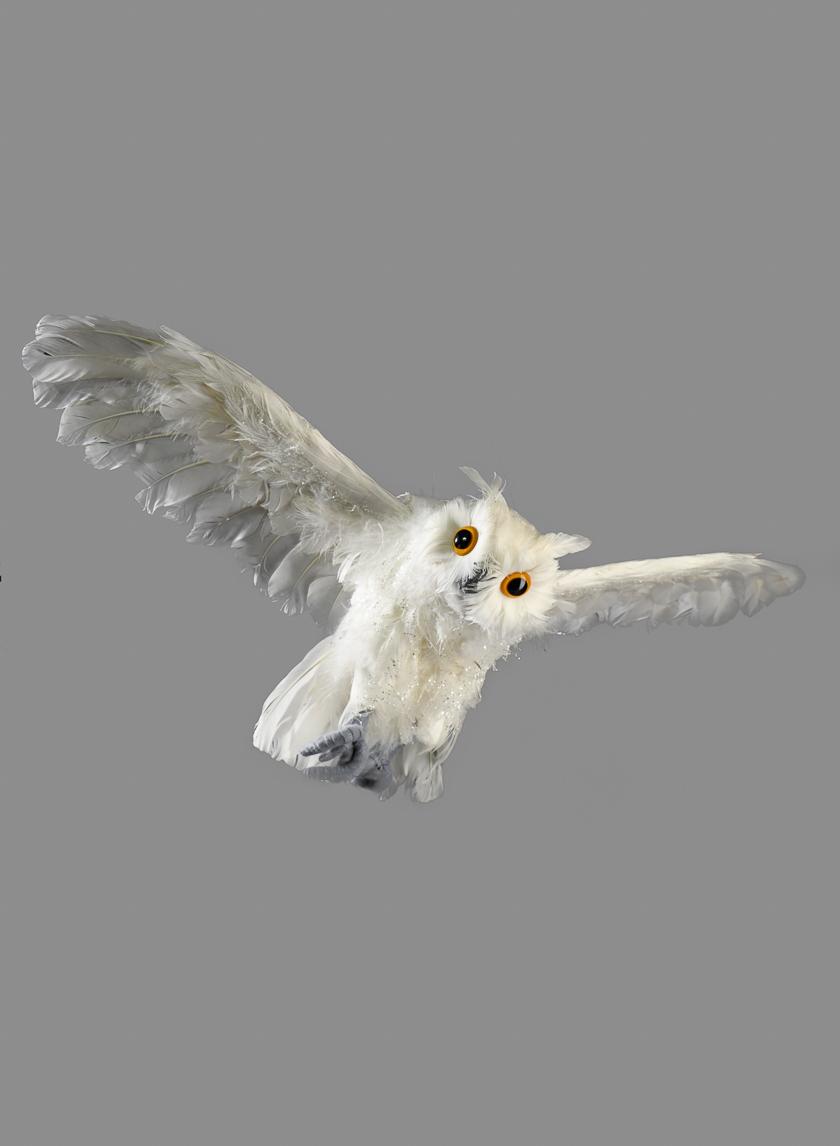 18in Flying White Owl