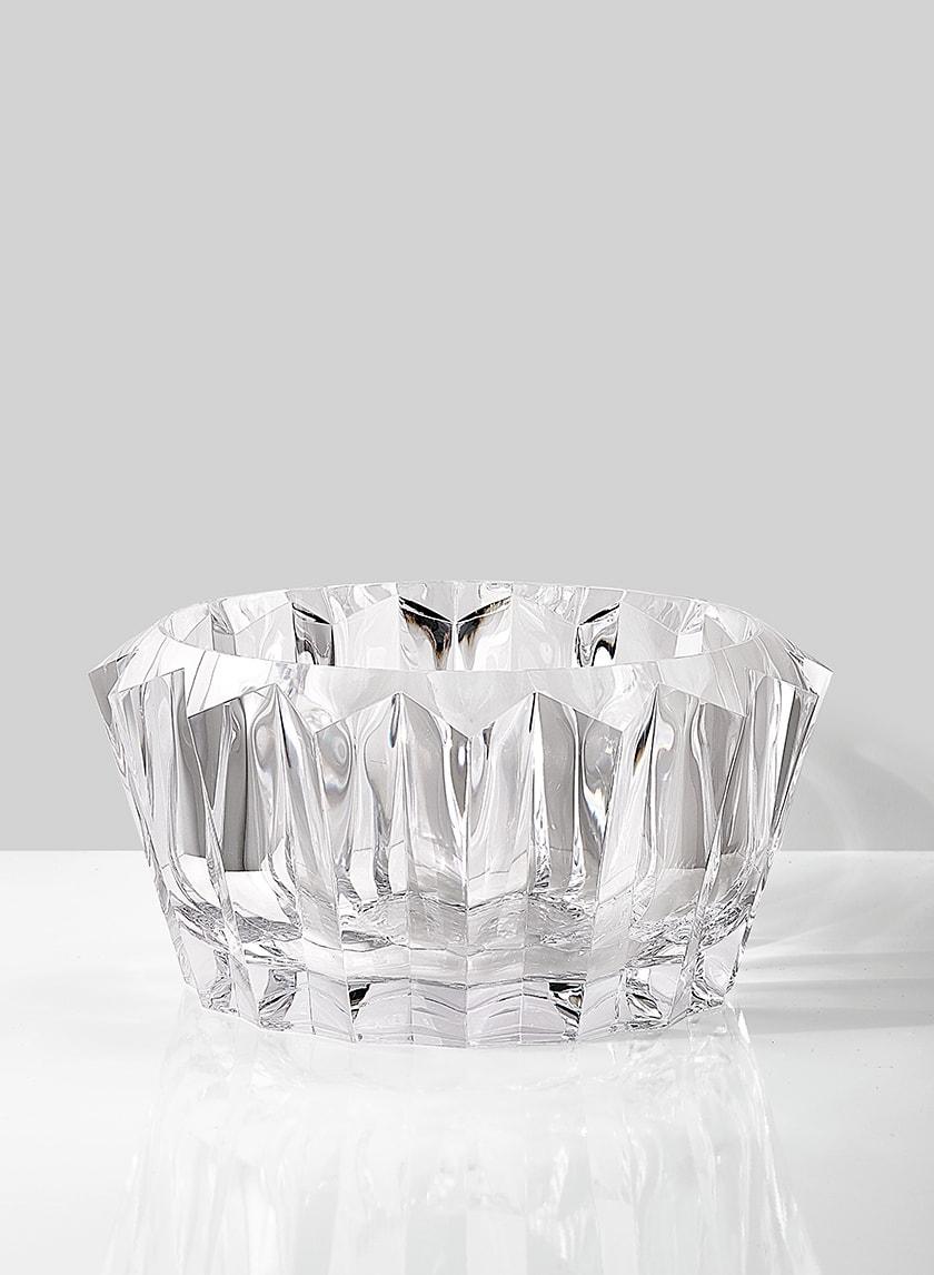 acrylic crystal fruit bowl