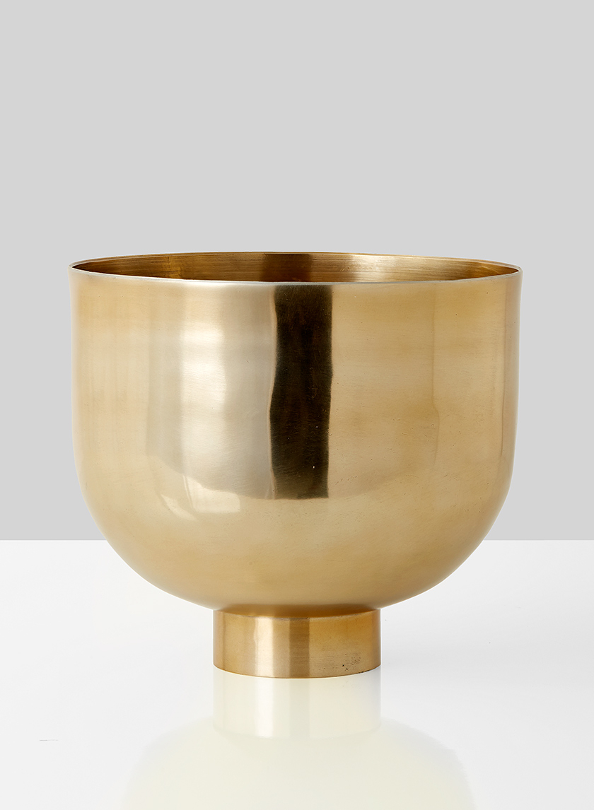 10in Gold Compote Bowl