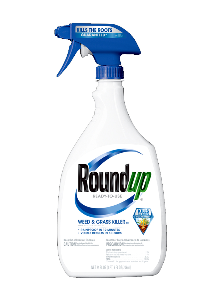 1 Gallon & 30oz Roundup Weed And Grass Killer