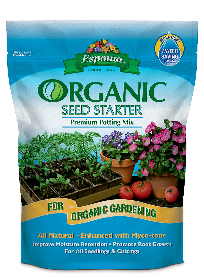 espoma seed starter potting mix soil