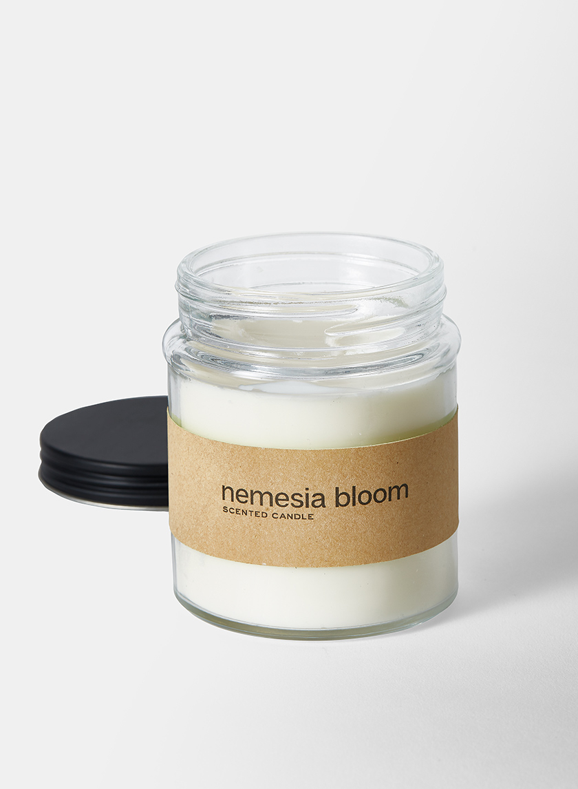 36 Hour Nemesia Bloom Fragrance Ivory in Clear Glass