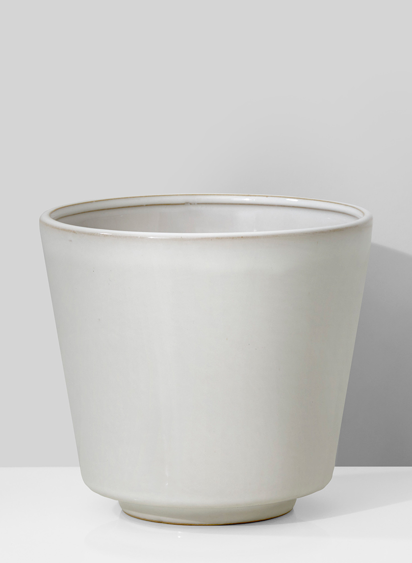 5in White Stoneware Bowl