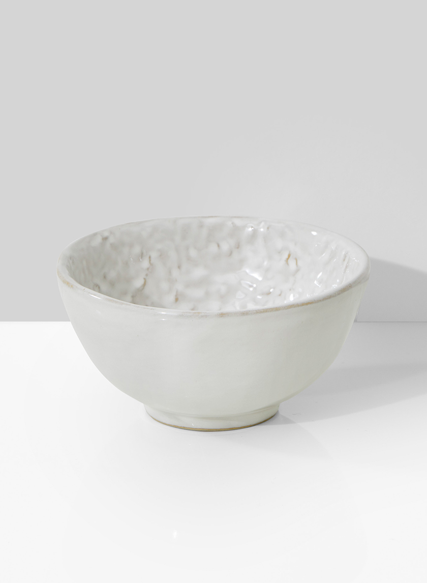 5in White Ceramic Bowl