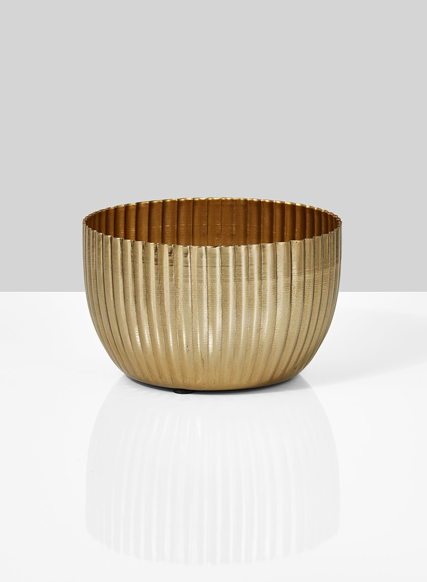 5 x 3in Gold Bowl, Set of 2