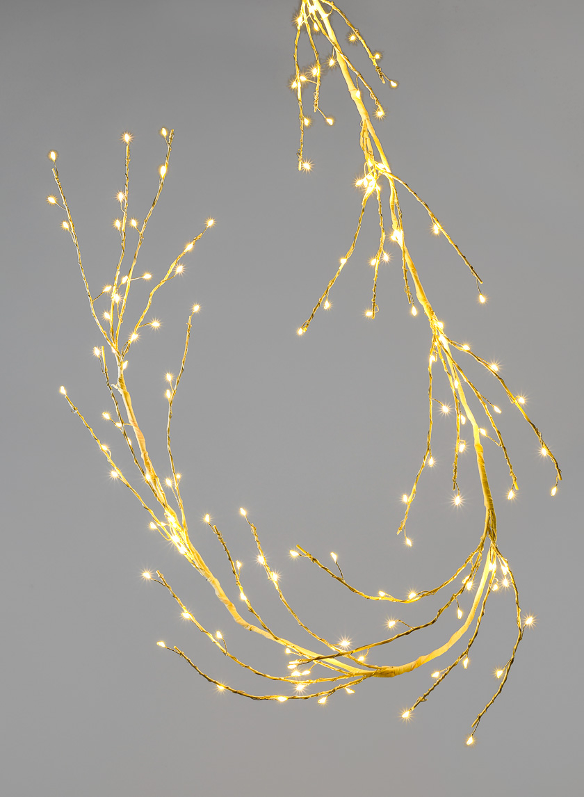 6ft. Metal Branch L.E.D. Light
