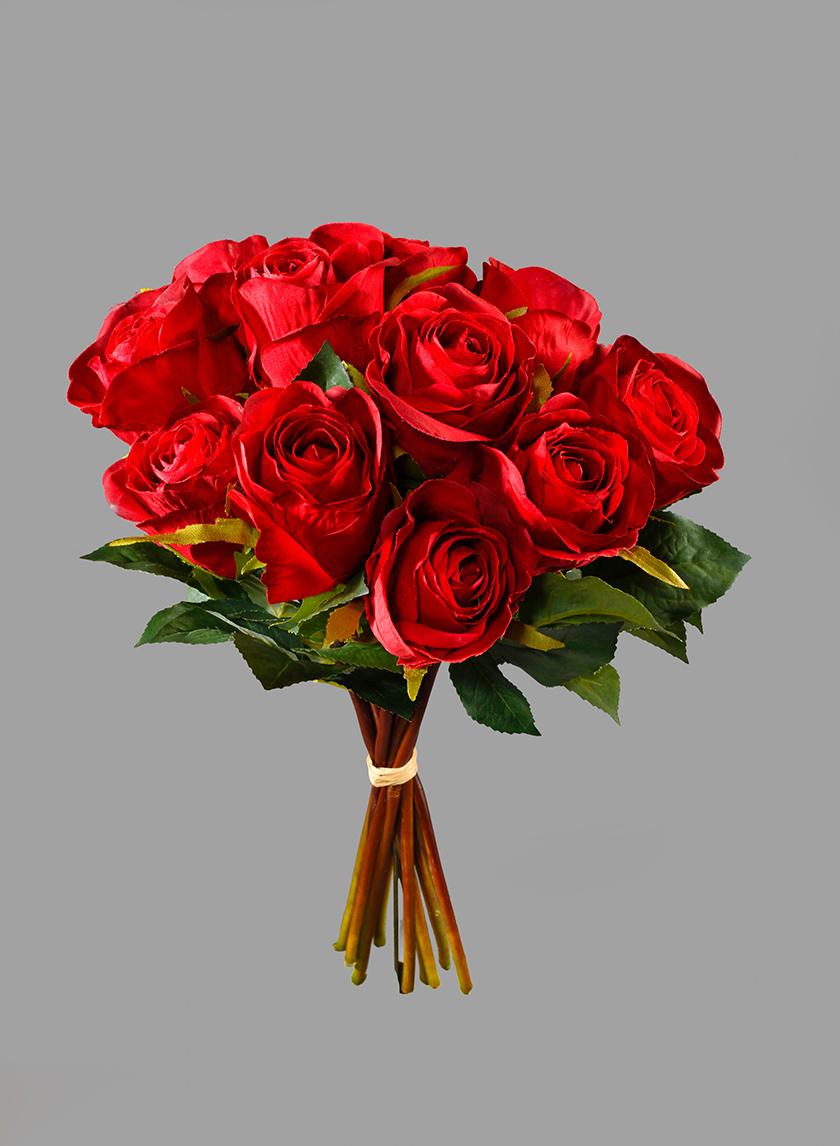 A Dozen Red Roses Bouquet
