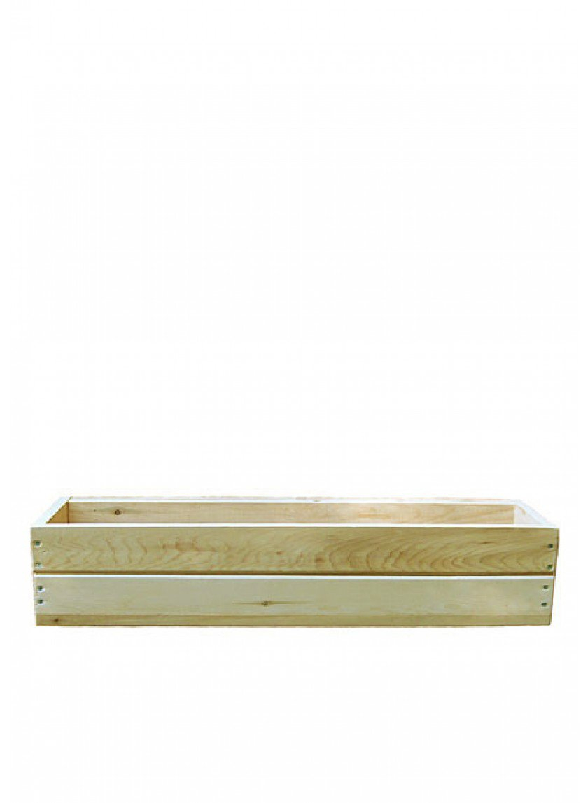48in Natural Cedar Window Box