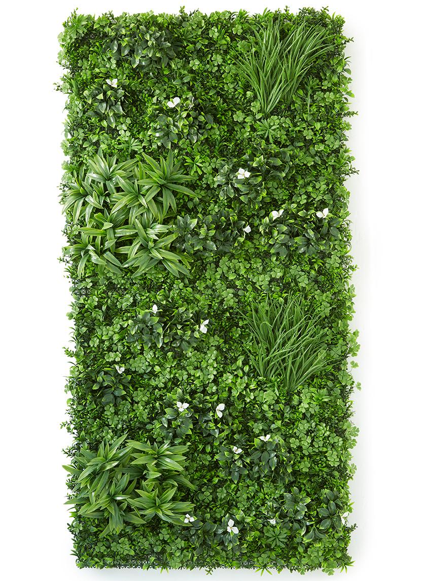 39 x 39in Mixed Greens Mat