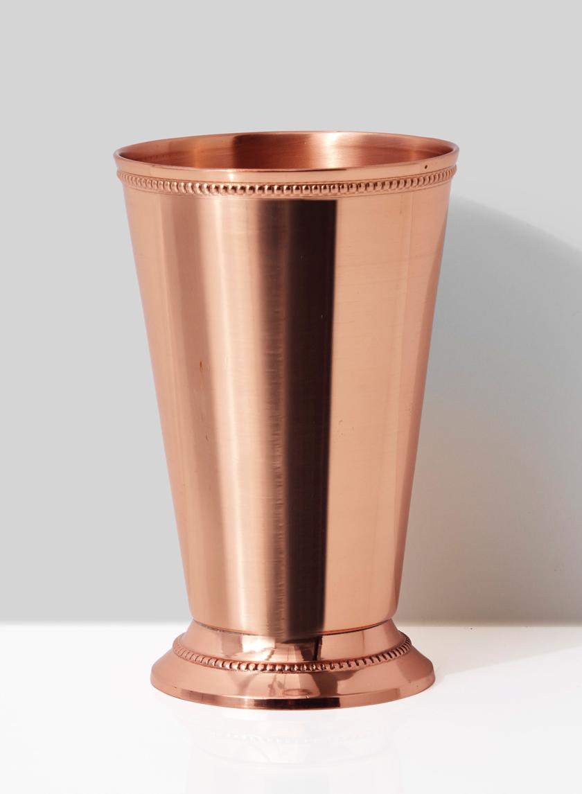 Copper Julep Cup Vase