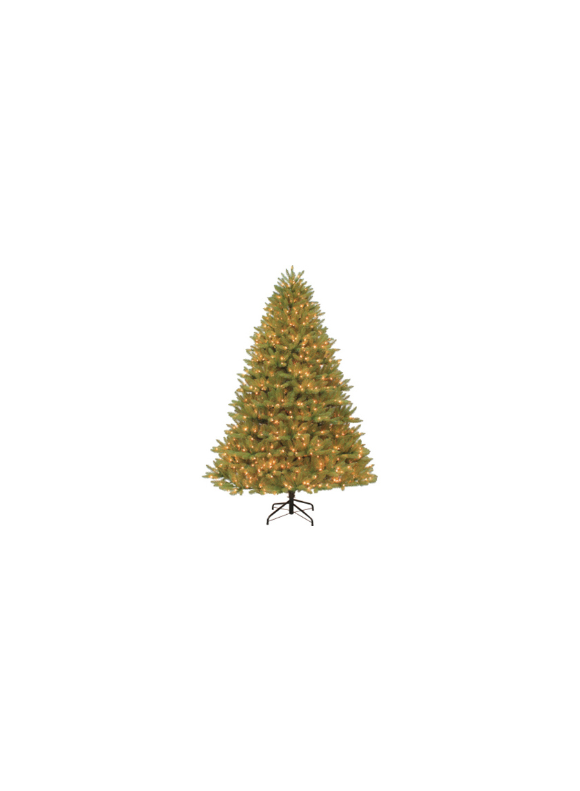 4 1/2ft Pre-lit Ozark Blue Spruce Tree