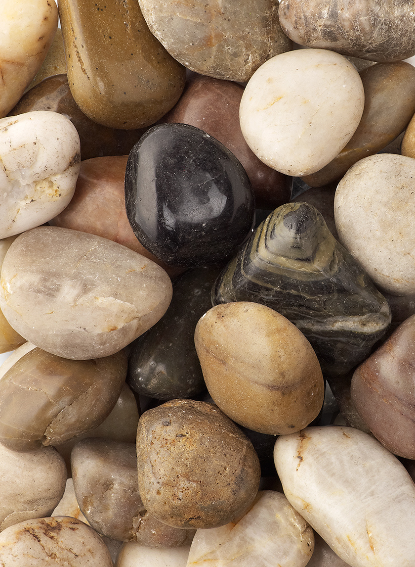 High Polished Mixed River Stones