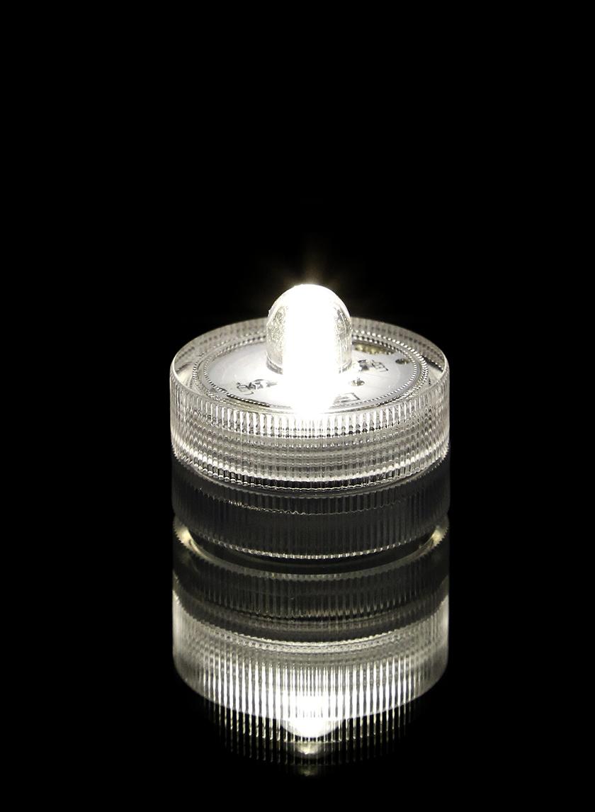 Warm White Submersible Single LED Light, Set of 10 24798