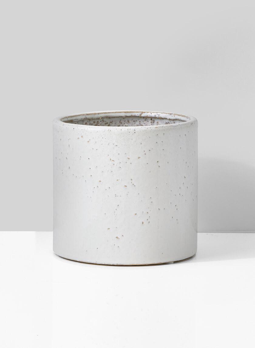 7in Ceramic Round Cachepot