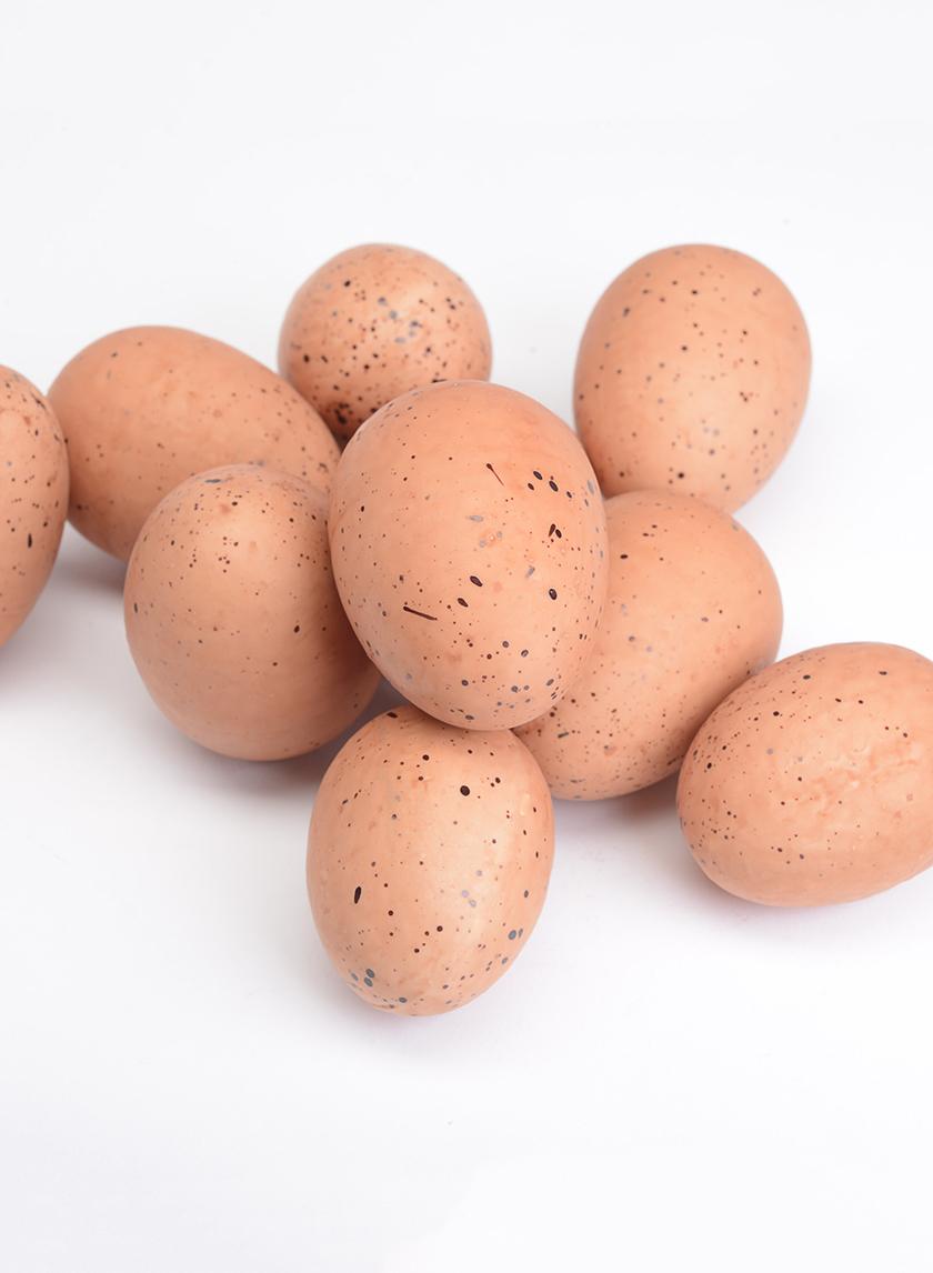 Brown Eggs, Set of 12
