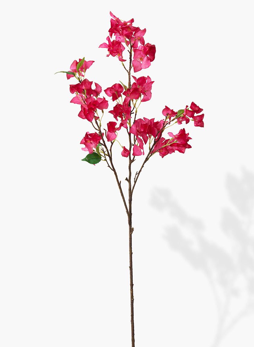 41in Fuchsia Bougainvillea Spray