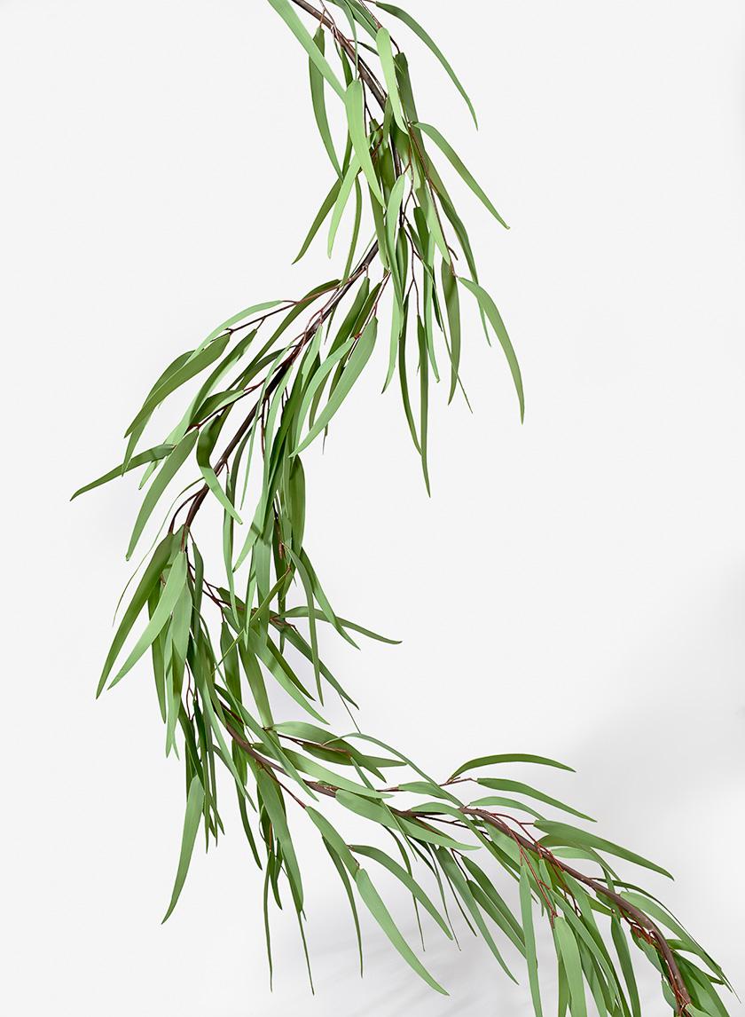 65in Willow Eucalyptus Garland