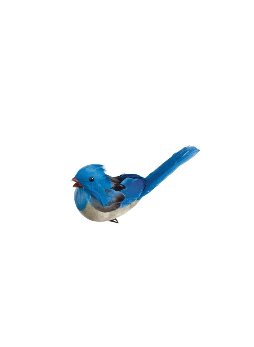 blue jay bird ornament clip BB8015-BL