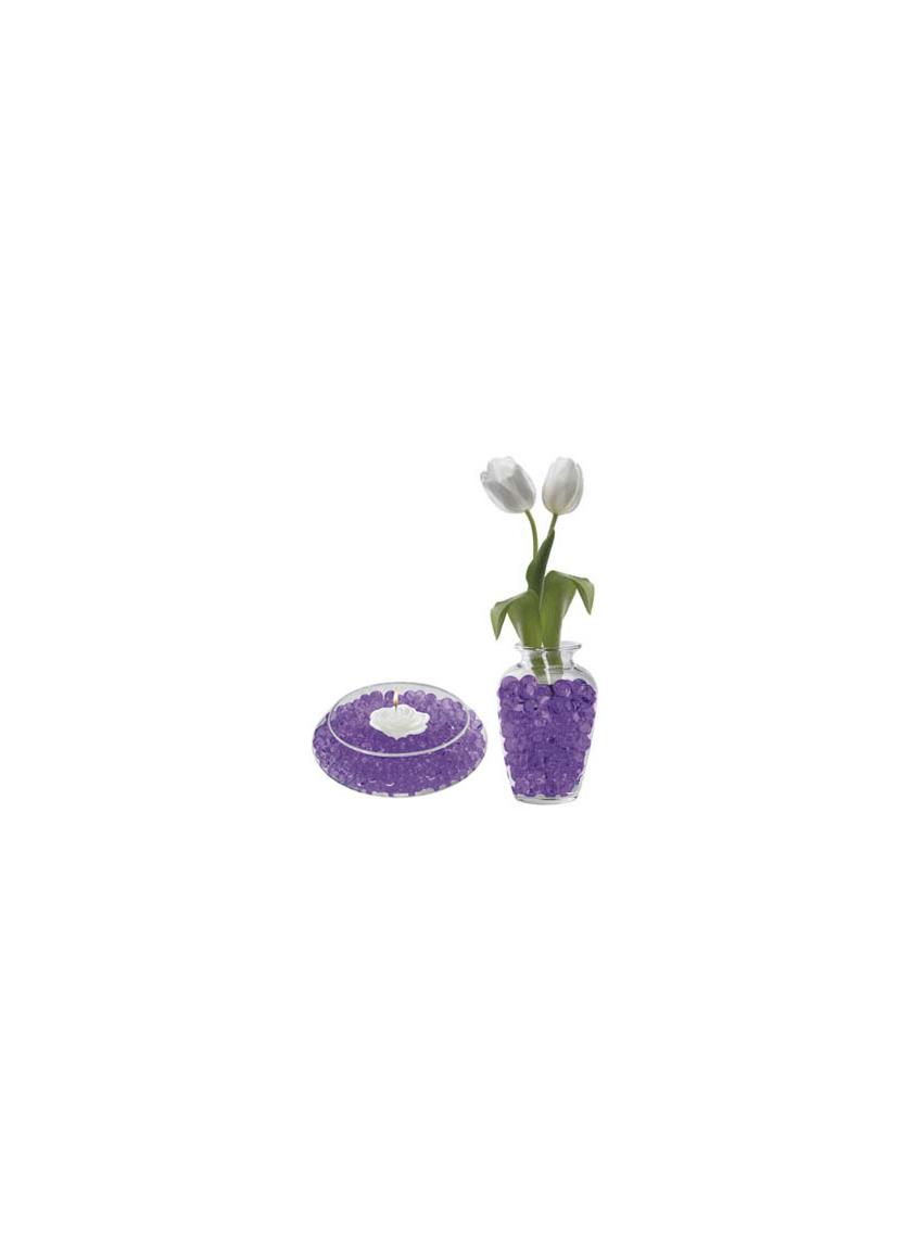 deco beads purple DB-PO8