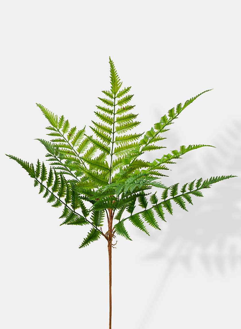 fern bush fake plants florist supplies