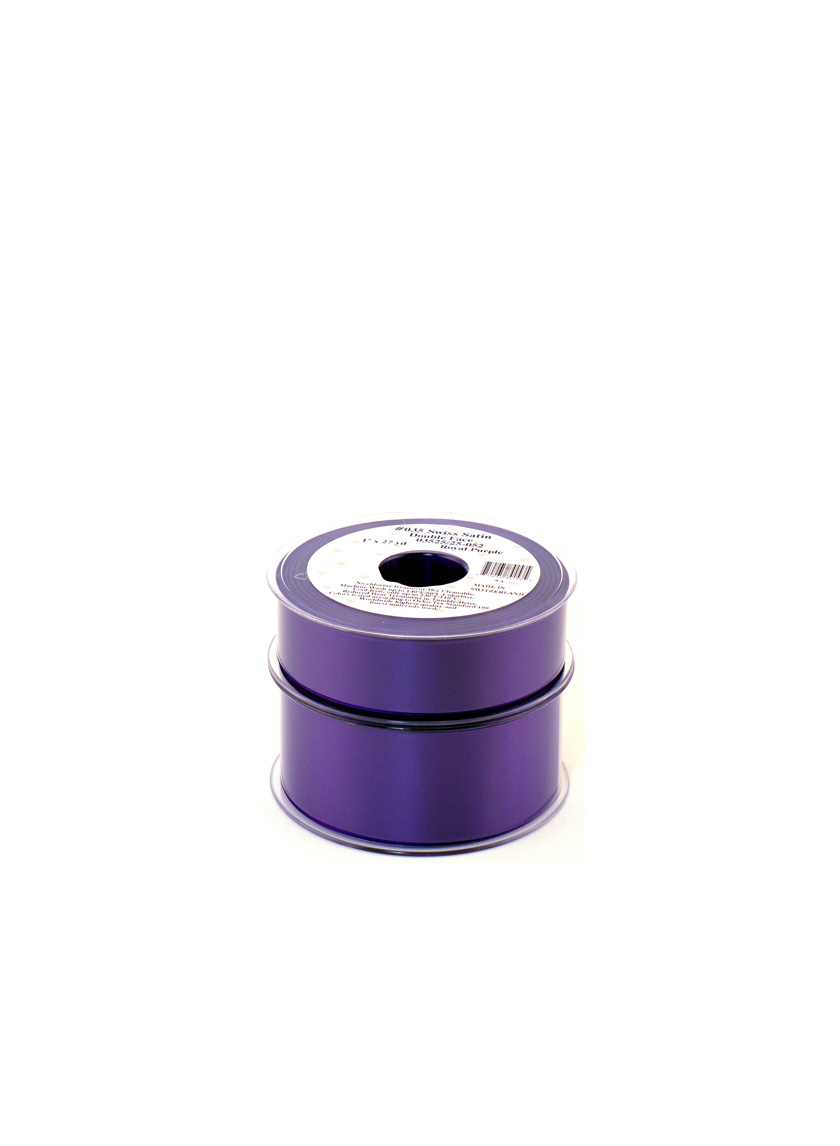 Royal Purple Swiss Satin Ribbon