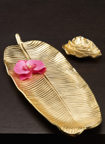 Gold Leaf Trays
