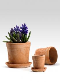 6 1/2 x 6in Redstone Wide Rim Pot