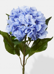 24in Extra Large Blue Hydrangea