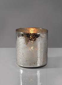 vintage wedding mercury glass vase