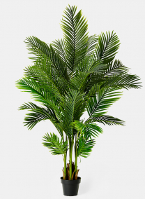 artificial areca butterfly palm tree home event decor silks