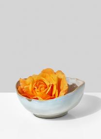6in Freeform Edge Ceramic Potter's Bowl