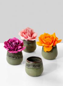 3in Stoneware Bowl, Set of 4