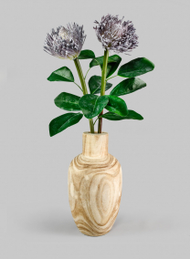 Paulownia Wood Bottle Vase