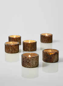 mercury glass tea light holders for wedding events
