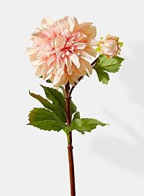 peach dahlia silk flowers