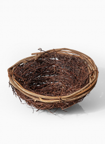 twig decorative birds nest easter spring props