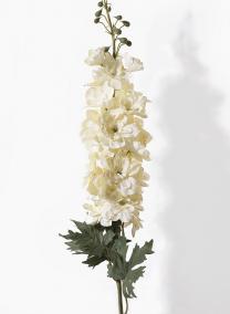37in White Delphinium