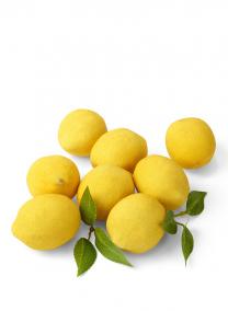 Display Lemons With Loose Leaves
