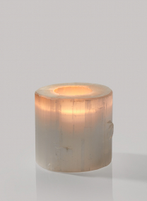 3in x 3in Moroccan Selenite Trunk Votive