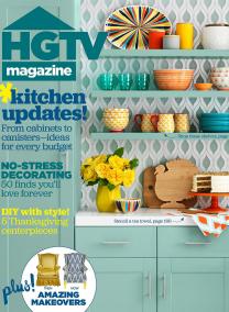 HGTV Magazine November 2015 cover