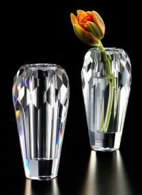 4 3/4in H Crystal Bud Vase
