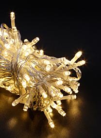warm white clear cord 100ct christmas lights led SHR-ST-TWW