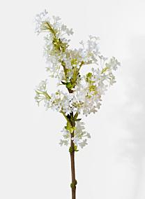 white lilacs silk flowers