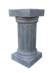 zinc fiberglass pedestal wedding décor MD44Z