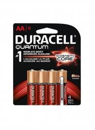 Quantum AA Duracell Battery, Pack of 4